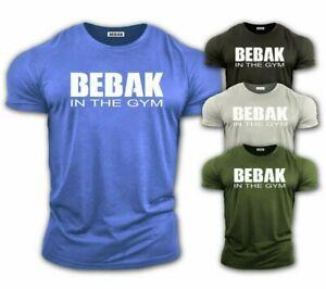 BEBAK Mens Gym T-Shirt ORIGINAL Bodybuilding Top Workout Clothing Training Top