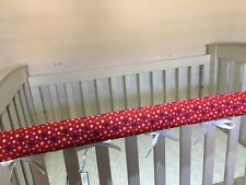 Reversible Baby Cot Crib Teething Rail Cover Protector ~ Stars