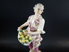 18th Century Ludwigsburg Antique Porcelain Figure Lemon Seller Circa 1770