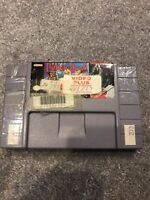 Super Punch-Out (Super Nintendo Entertainment System, 1994)Working Game Only