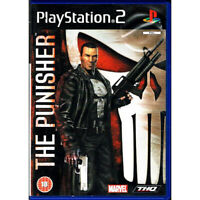 Pre-Owned  The Punisher Sony Playstation 2 PS2 w/ Manual BLACK LABEL COMPLETE!