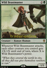 Wild Beastmaster (Wilde Bändigerin) Commander 2016 Magic