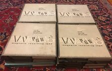 """VARIOUS  7"""" REEL TO REEL TAPES 16 PIECES"""