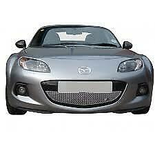 ZUNSPORT SILVER FRONT GRILLE for MAZDA MX5 MK3.75 2013-14 ZMA44713