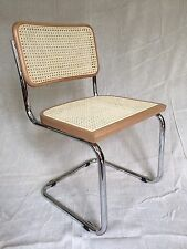 New Marcel Breuer Cesca Style Side Chair (Honey Oak)