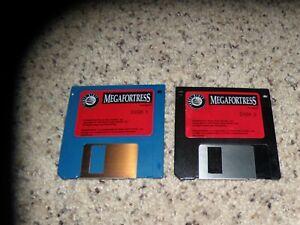 "Megafortress Commodore Amiga Game on 3.5"" disks"