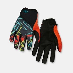 GIRO DND JR II Youth Kids Cycling Gloves Size MEDIUM M 4x Suede MTB/Road NEW