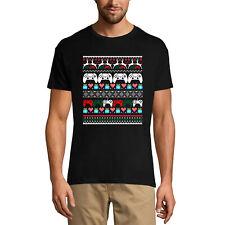 ULTRABASIC Homme T-shirt Cool Christmas Gamer - Joueur de Noël Cool - Humour