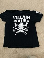 Villian Club Tshirt XL Bullet Club Njpw Aew Roh