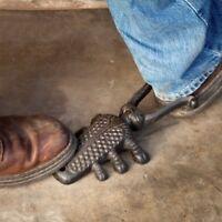Rustic Cast Iron Longhorn Metal Beetle Bug Boot Jack Shoe Remover