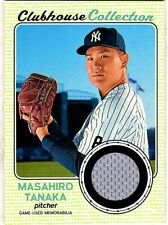 MASAHIRO TANAKA - 2017 TOPPS HERITAGE CLUBHOUSE COLLECTION JERSEY RELIC