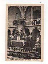 Abbaye de LABUSIERE SUR OUCHE - La chapelle  (A2806)