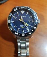 Seiko Sportura Kinetic GMT Men's Watch SUN017P1
