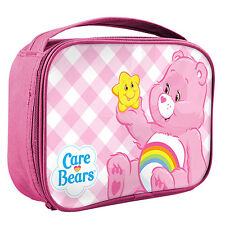 CARE BEARS Cooler Lunch Box Zip Bag Work School Party Christmas Gift for Kids