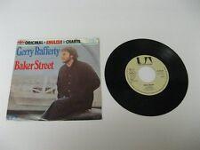 "Gerry Rafferty baker street - 45 Record Vinyl Album 7"""