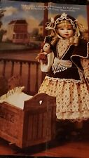 """""""Sarah"""" ~ A Limited Edition Coco-Cola Heirloom Collector Doll, w/Access/Cradle!"""