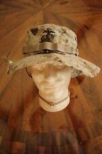 USMC MARINE CORPS TAN MARPAT TWILL CAMOUFLAGE COMBAT FLOPPY HAT BOONIE CAP 7 1/2