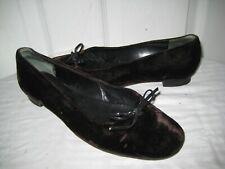 ea888b848b5f Robert Clergerie Paris Velvet   Leather Loafers Bow Shoes Women s Size ...