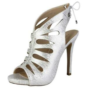 CLEARANCE SALE! Laura Biagiotti Style 433 – White / Cucumis Colour Heels