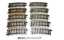 5101 MÄRKLIN HO - 10 x GEBOGEN RAILS/VOIES COURBES MARKLIN (k17-0085)