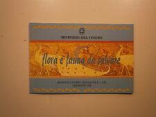 Moneta Argento 1994 REP. ITALIANA LIRE 1000 FLORA FAUNA DA SALVARE IN FDC