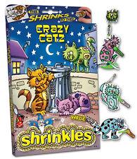 CRAZY CAT CATZ KITTEN EMBELLISHMENTS SHRINKLES SHRINK ART BUMPER SET & PENCILS