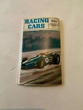 1970 Racing Cars Flipout Book Shelly Graphics UK