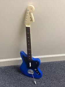 Rock Band Fender Jaguar Wireless Guitar, PS4 Playstation 4, Blue
