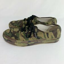 Vans Camo Lace Up Skate Shoes Men's 5.5 Women's 7