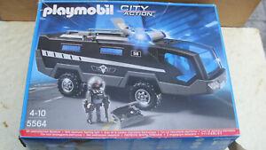 Playmobil 5564 SEK Einsatztruck mit Licht und Sound, komplett ohne BA in OVP