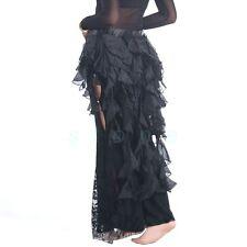 Colors Belly Dance Dancing Belt Performance Tassel Wave Hip Scarf Belt Skirt