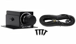 ALPINE RUX-KNOB.2 Remote Control Bass Knob For Select Alpine Amplifiers Amps