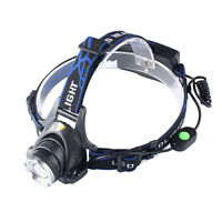 20000LM XM-L T6 LED Head Torch Zoomable Headlight 18650 Rechargeable Headlamp