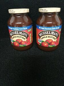 Musselmans Old Fashioned Apple Butter 17 oz 2 Jars