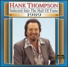 Hank Thompson - Country Music Hall of Fame 1989 [New CD]