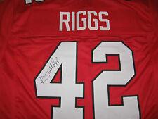 Atlanta Falcons Gerald Riggs signed Jersey  W/COA