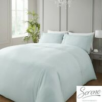 Serene RENAISSANCE Duck Egg Easy Care Duvet Cover Set