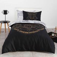 *New Harry Potter Hogwarts Newspaper Single Bed Quilt Doona Duvet Cover Set Twin