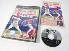Backyard Sports: Baseball 2007 (Nintendo GameCube, 2007) Complete CIB