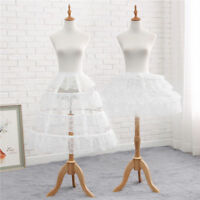 Lolita Girls' Adjustable White Lace Hoop Bustle Crinoline Cage Petticoat Pannier
