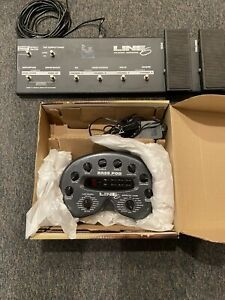 Line 6 Bass POD plus Line 6 Floorboard with connecting wire