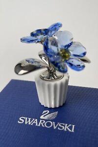 SWAROVSKI CRYSTAL FORGET ME NOT FLOWER #5045569 Original Box