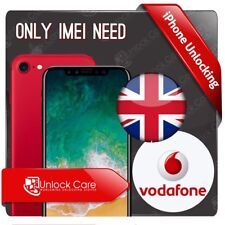 IPHONE X  8 & 8+  10 VODAFONE UK IPHONE UNLOCK SERVICE ONLY IMEI NEED UNLOCKING