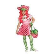 Girls Strawberry Shortcake Deluxe Costume Dress Hat Ru883489