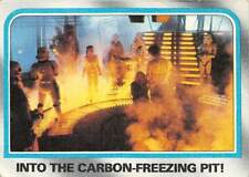 1980 Topps Star Wars #203 Into The Carbon Freezing Pit! > Han Solo > Leia > C