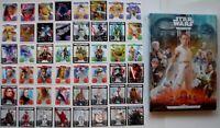 Kaufland Star Wars Sammel Album und alle 48 Karten Komplettsatz Starwars Sticker