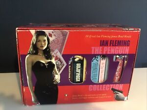 Ian Fleming The Penguin James Bond 007 14 Book Box set Collection - UNREAD