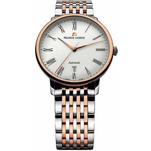 Maurice Lacroix LC6067-PS103-110-1 Men's Les Classiques White Automatic Watch