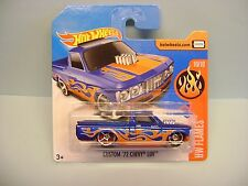 Diecast Hot Wheels HW Flames Custom '72 Chevy LUV on Blister