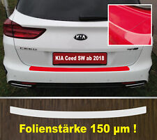 Kia Sportage Ladekantenschutz Lackschutzfolie Schwarz Matt Schutzfolie 10006